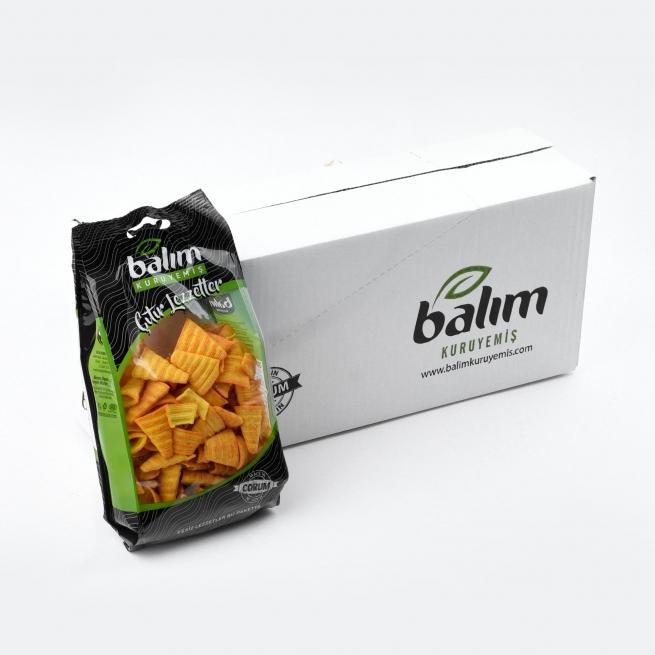 110g Crunch mısır tanesi 1.60tl koliden 12adet çıkıyor.